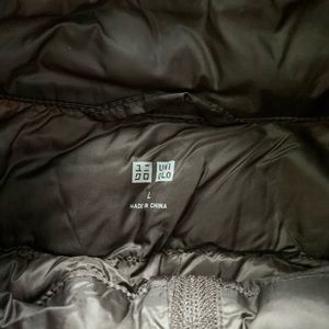 Uniqlo Jackets & Coats - Pewter Black Dark Grey Puffer Vest